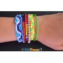 Bracelet brésilien multi couleur