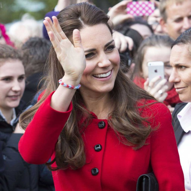 la princesse Kate Middleton est son bracelet loom